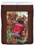 Redhead Scarecrow Duvet Cover