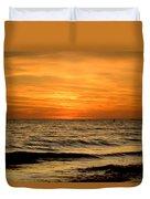 Redington Beach Sunset Duvet Cover