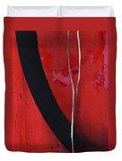 Redrum Duvet Cover by Skip Hunt