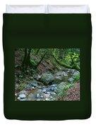 Redwood Creek Art Duvet Cover