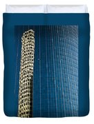 Reflected Building Duvet Cover