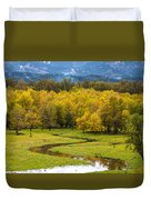 Reflected Seasons Duvet Cover