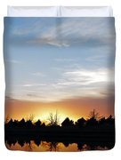 Reflected Sky Duvet Cover