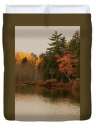 Reflecting On Autumn Duvet Cover