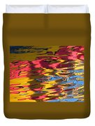 Reflection Abstraction Duvet Cover
