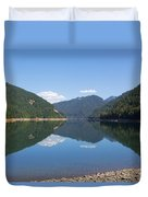 Reflection At The Reservoir Duvet Cover