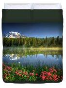 Reflection Lakes Duvet Cover
