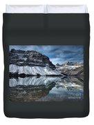 Reflections At Bow Lake Duvet Cover