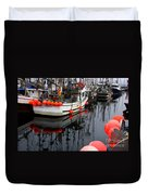 Reflections At French Creek Duvet Cover by Bob Christopher