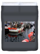 Reflections At French Creek Duvet Cover