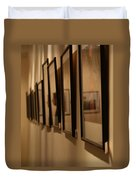 Reflections From A Series Of Painting Frames Duvet Cover