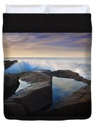 Reflections In Monument Cove Duvet Cover