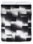 Reflections Of A Rain Shower Duvet Cover by Tim Allen