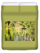 Reflections Of Fathers' Day Duvet Cover