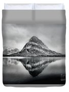 Reflections Of Grinnell Duvet Cover