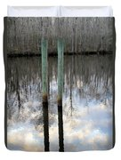 Reflections Of Us Duvet Cover