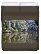 Reflections On Aldridge Lake Duvet Cover