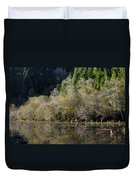 Reflections On Marshall Pond Duvet Cover