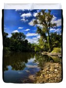 Reflections On The Kankakee Duvet Cover