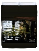 Reflections Under Pier Duvet Cover