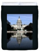 Reflective Government Duvet Cover