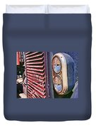 Reflective Grill Duvet Cover