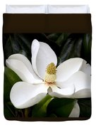 Regal Southern Magnolia Blossom Duvet Cover
