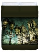 Reinvented History Duvet Cover