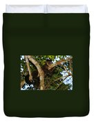 Relaxed - Brown Capuchin Duvet Cover
