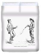 Remington: Cowboy, 1888 Duvet Cover