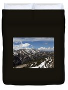 Rendezvous Mountain Duvet Cover