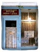 Repair Of Nylons. Belgrade. Serbia Duvet Cover