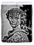 Resigned To Fate - Bw Duvet Cover
