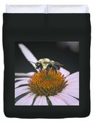 Resting Bee Squared Duvet Cover