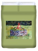 Retired Water Pump Duvet Cover