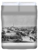 Retreat Of British From Concord Duvet Cover
