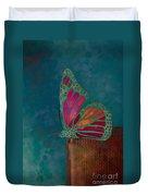 Reve De Papillon - S04bt02 Duvet Cover by Variance Collections