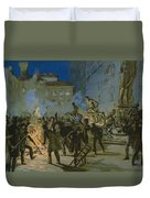Revolution In Florence Duvet Cover