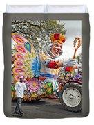 Rex Mardi Gras Parade IIi Duvet Cover
