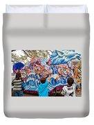 Rex Mardi Gras Parade Viii Duvet Cover