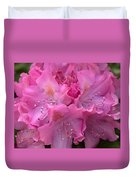 Rhododendron Bloom Duvet Cover