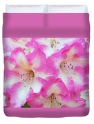 Rhododendron- Hot Pink Duvet Cover