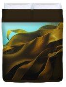 Ribbon Kelp Durvillaea Antarctica Duvet Cover