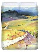 Ribera Del Duero In Spain 06 Duvet Cover