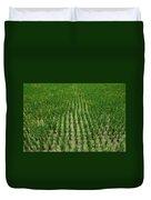Rice Field Duvet Cover