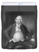 Richard Arkwright, English Industrialist Duvet Cover