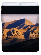 Richardson Mountains, Dempster Highway Duvet Cover