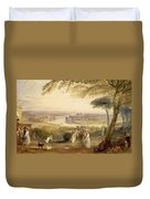 Richmond Terrace Duvet Cover by Joseph Mallord William Turner