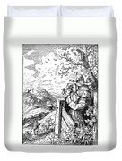 Richter Illustration Duvet Cover