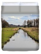 Ridgefield Reserve Landscape Duvet Cover